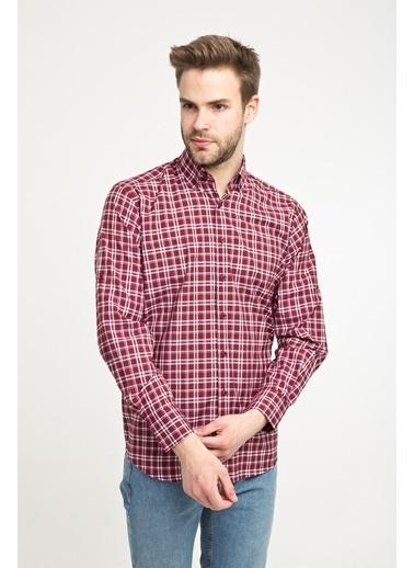 Kiğılı Gömlek Bordo
